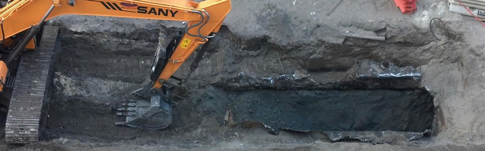 Digging Excavation